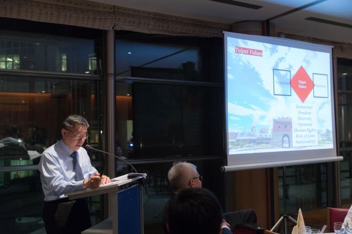 1070131柯市長於歐洲議會發表演講