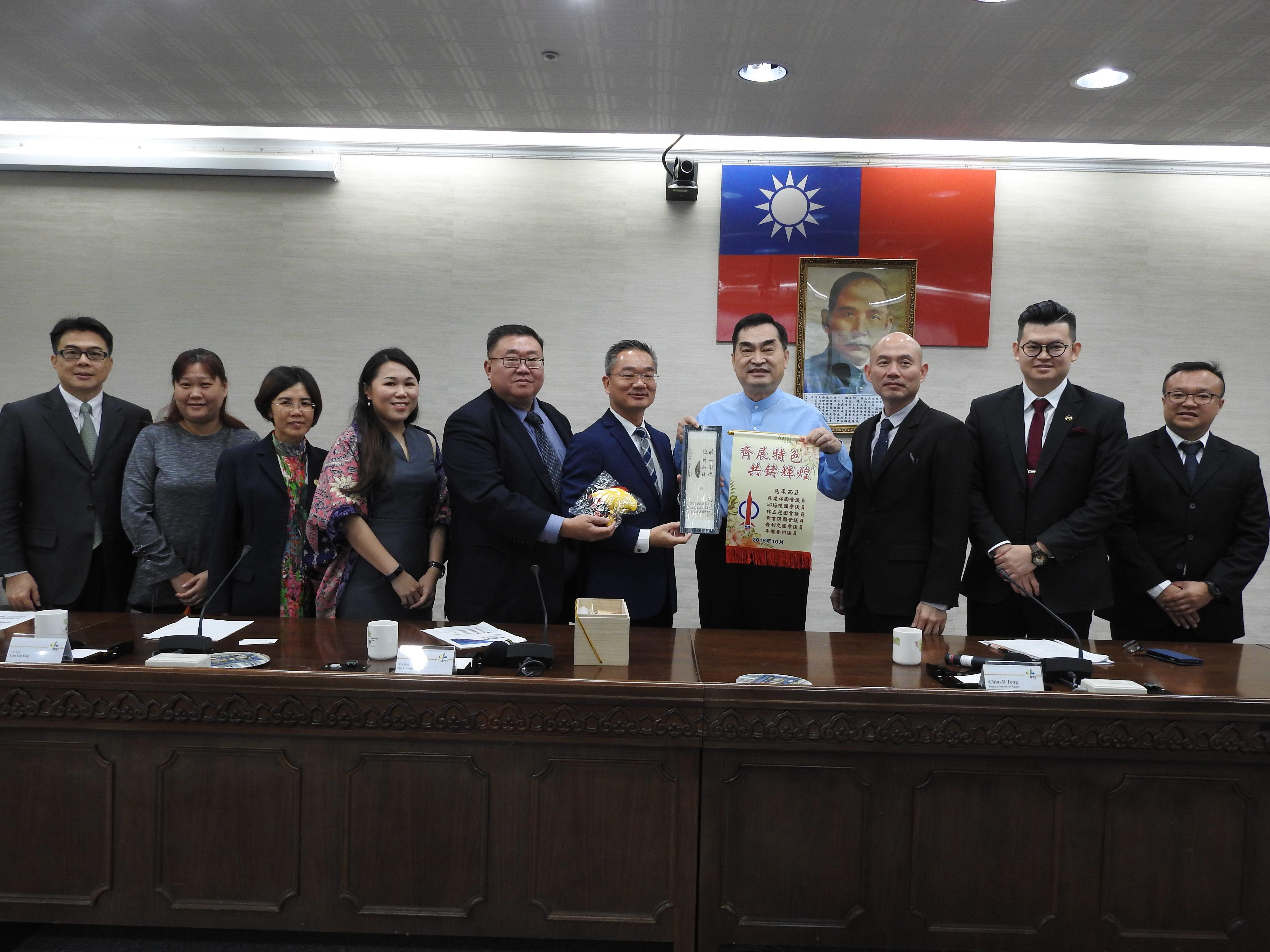 1071002鄧副市長接見馬來西亞國會議員