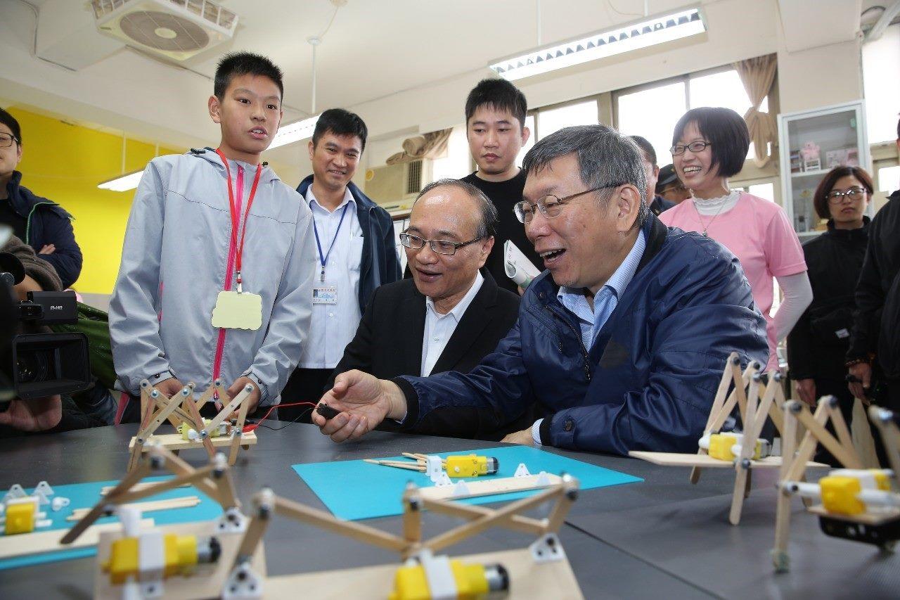1080304_柯文哲市長出席創新實驗教育成果發表會