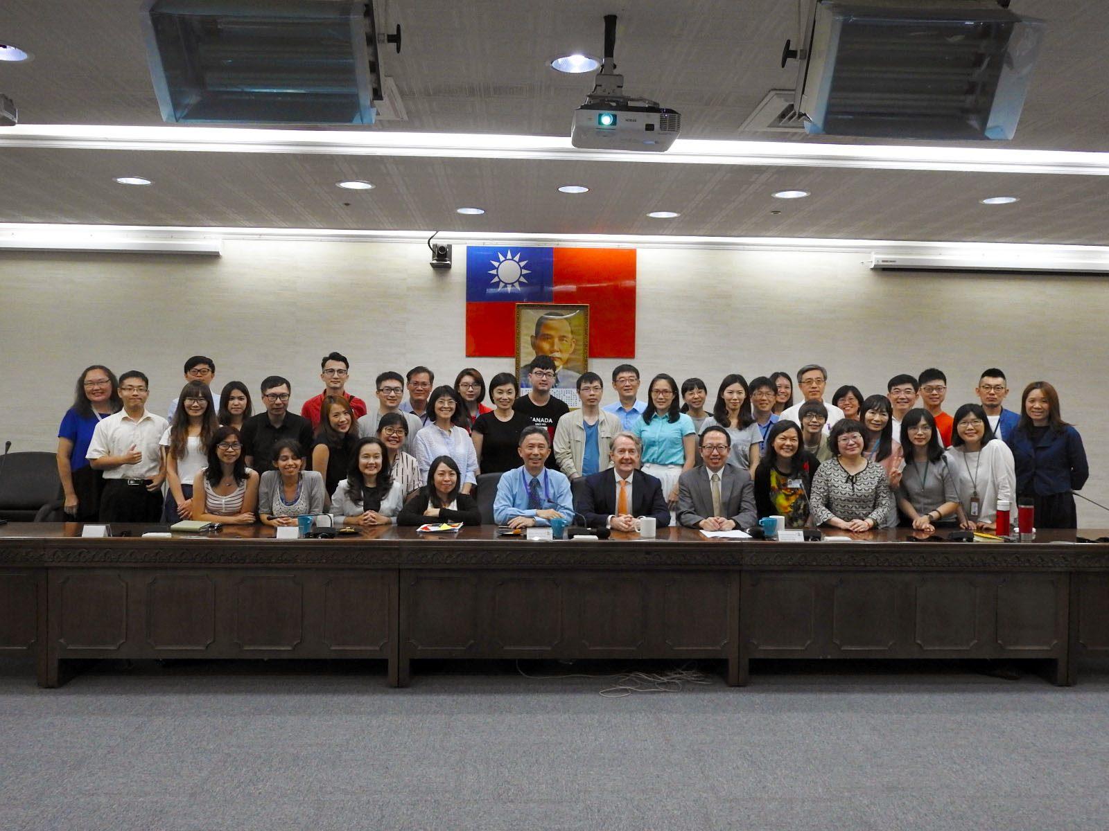 20190828_國際人才培訓班-周台竹大使(Tom Chou)與荷蘭貿易投資處紀維德(Guy Wittich)處長