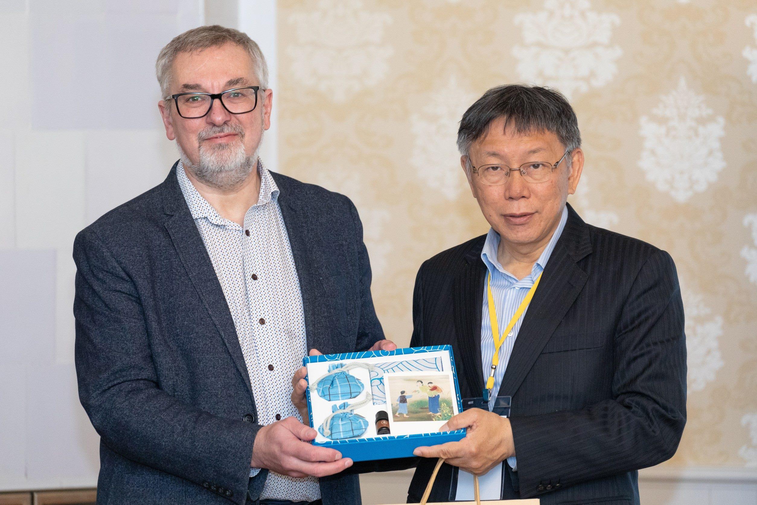 1090117_柯市長出訪歐洲拜會愛沙尼亞塔林市務卿Toomas Sepp