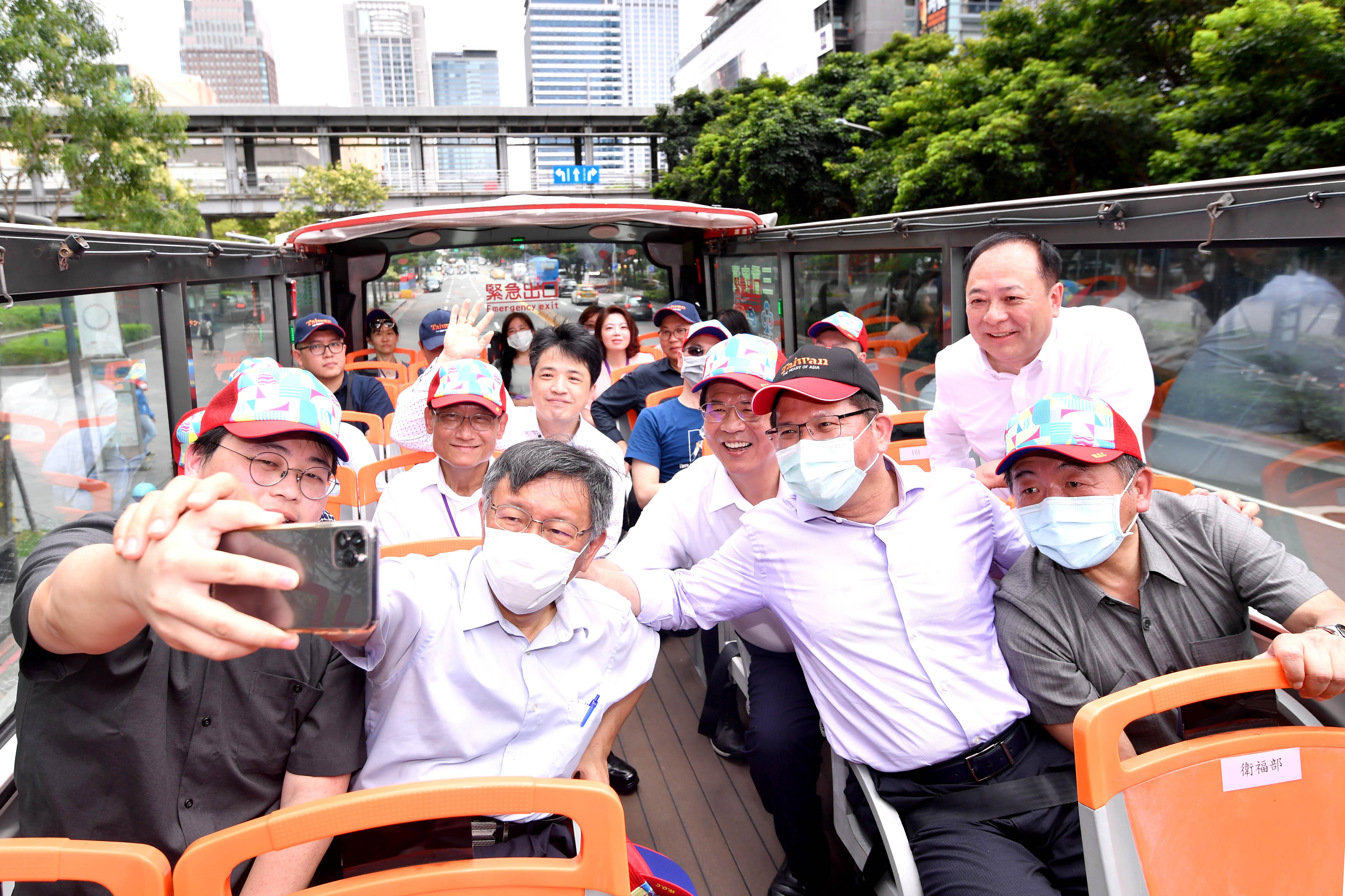 1090707_體驗臺北市雙層觀光巴士紅線觀光之旅