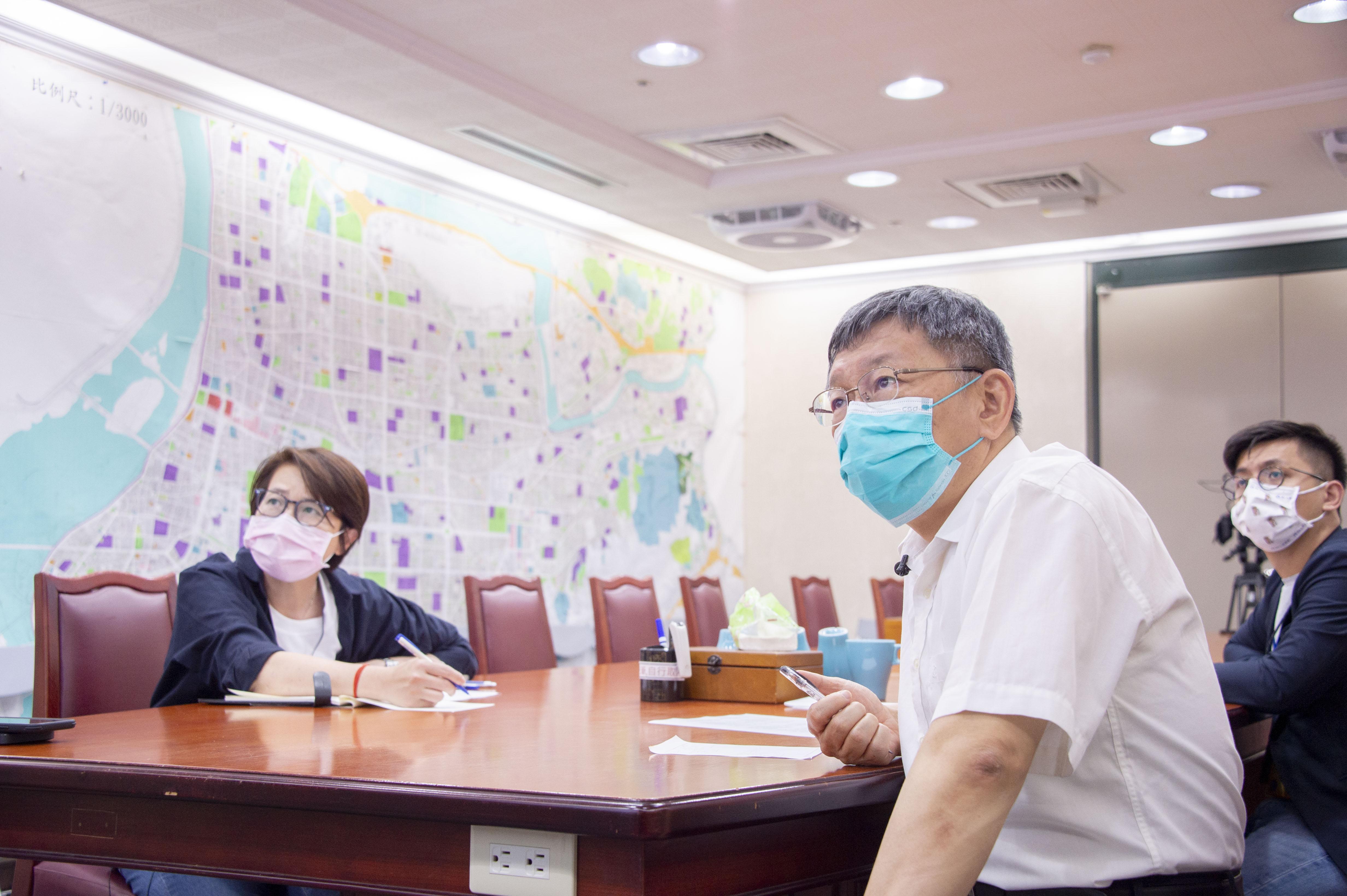 1100502_柯市長召開疫情小組防疫會議