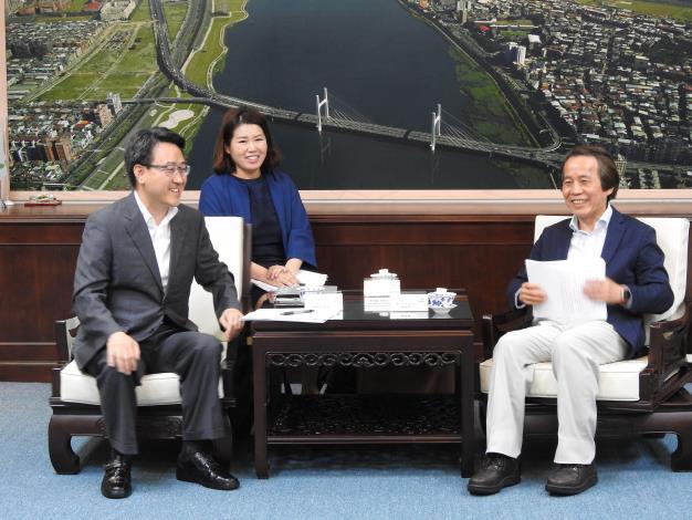 20180517_Head_of_Economic_Office_from_Gyeonggi-do_pays_a_courtesy_call_on_Deputy_Mayor_Lin