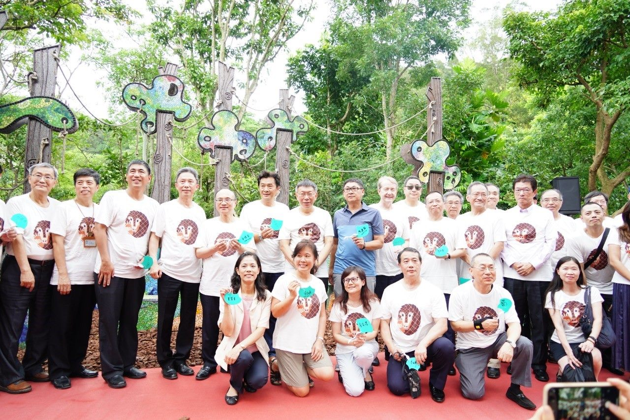 20190708Mayor Ko attending the opening ceremony of Pangolin Dome at the Taipei Zoo
