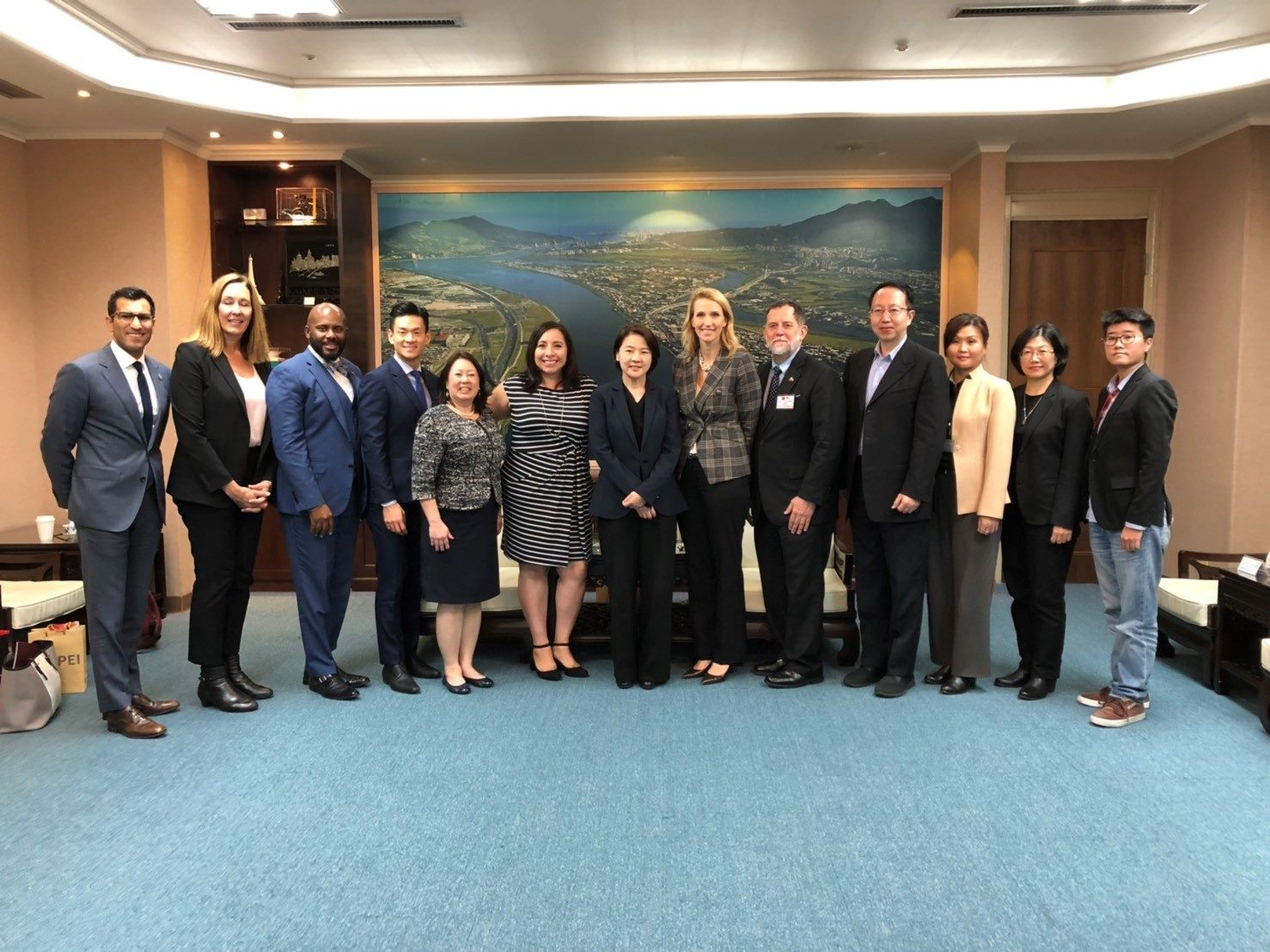 1081218_Delegations of California and Utah State Legislatures visited Taipei City Government