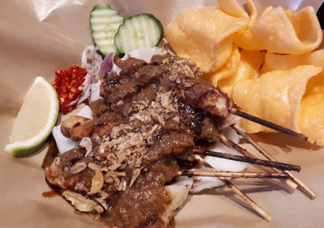 印尼雞肉沙爹