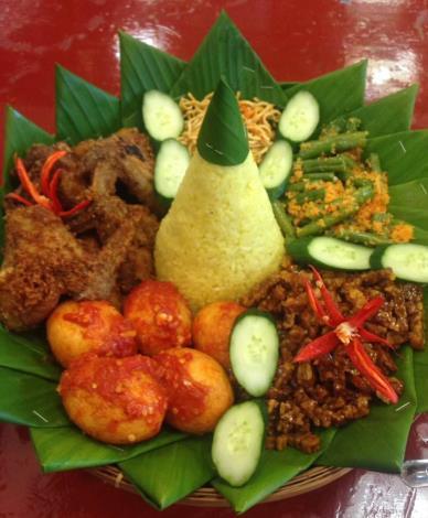 印尼黃薑飯