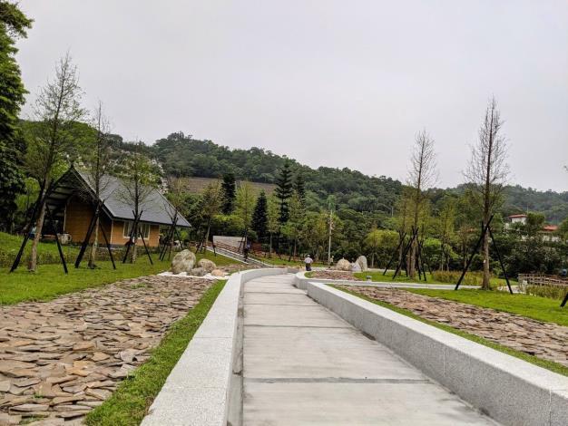 新樹葬園區-落羽之丘