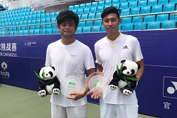 和彭賢尹搭檔於世大運中獲取佳績