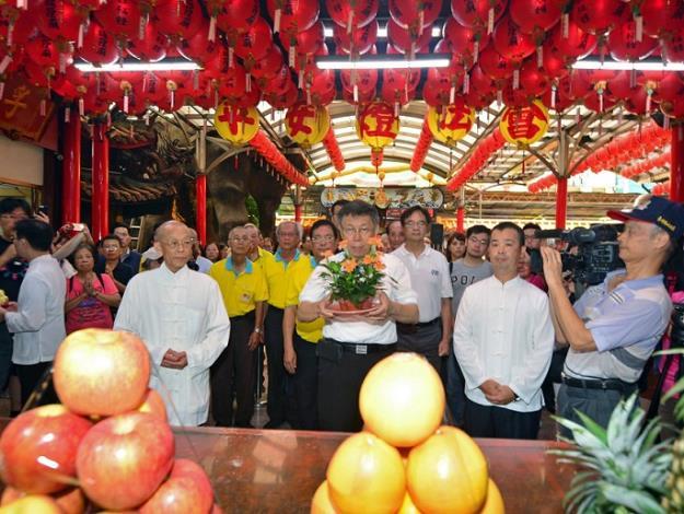 106年度臺北市中元普度祈安祭典
