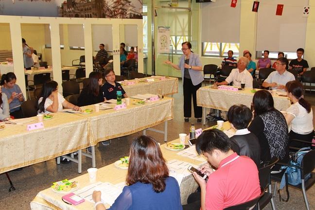 臺北市新移民參與式預算提案審議工作坊(第二階段)