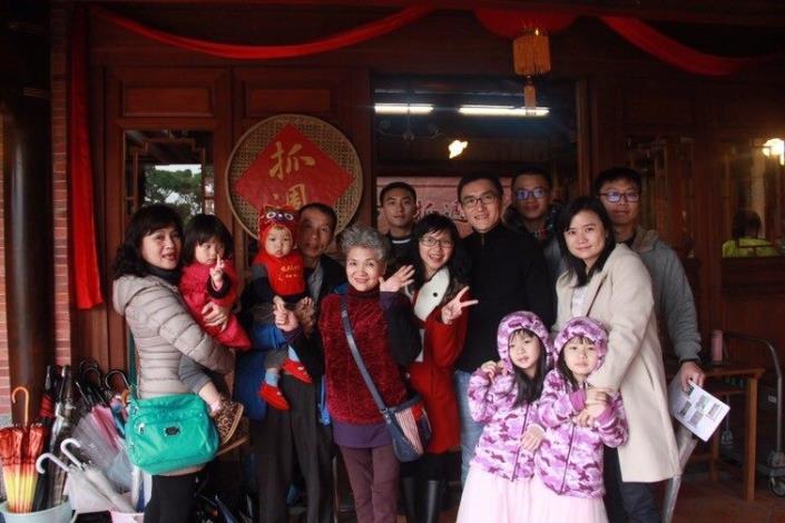 0224林安泰古厝新生兒儀典,全家人齊聚,為寶寶留下美好回憶