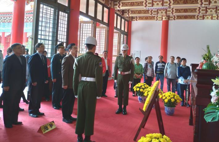 臺北市108年春祭忠烈陣(公)亡將士典禮