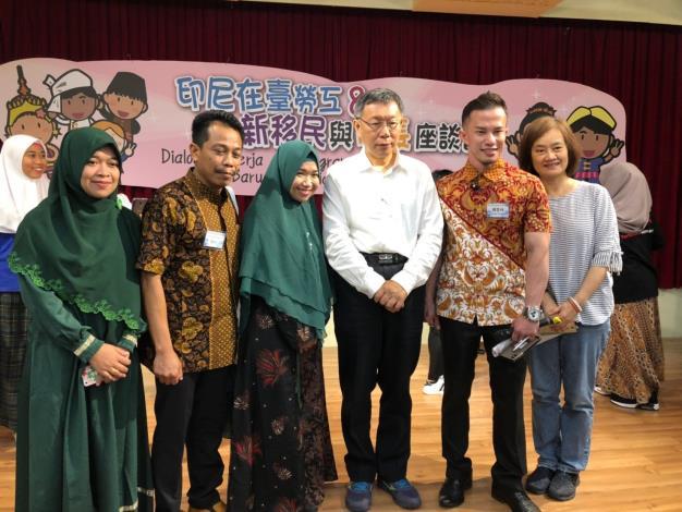 8_市長與印尼新移民移工朋友合照