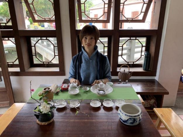 古厝奉春茶-茶師一景