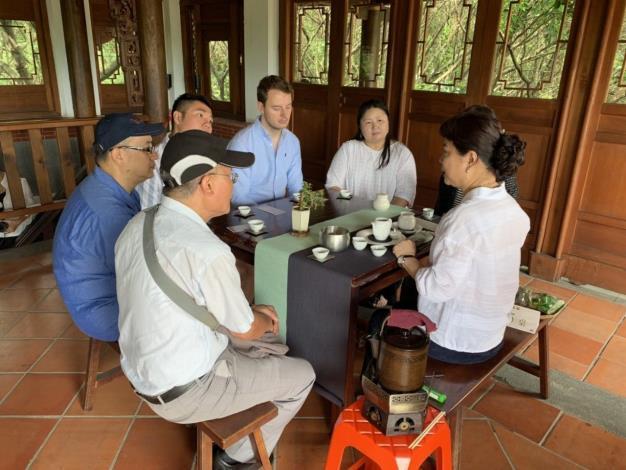 古厝奉春茶-分享茶藝