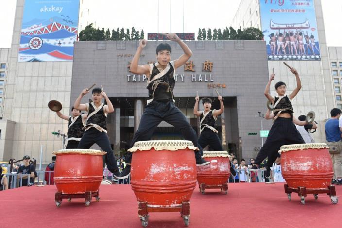 中華民國108年國慶升旗暨慶祝活動暖場活動表演-八里坌擊樂團