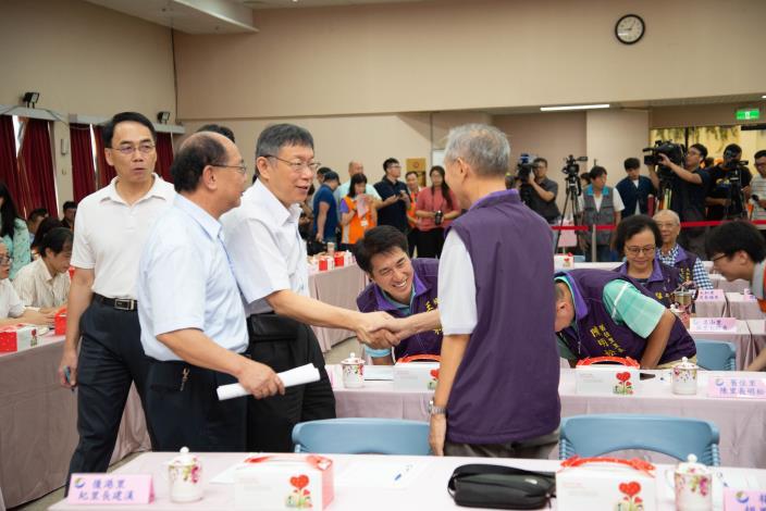108年8月7日市長與里長市政座談會
