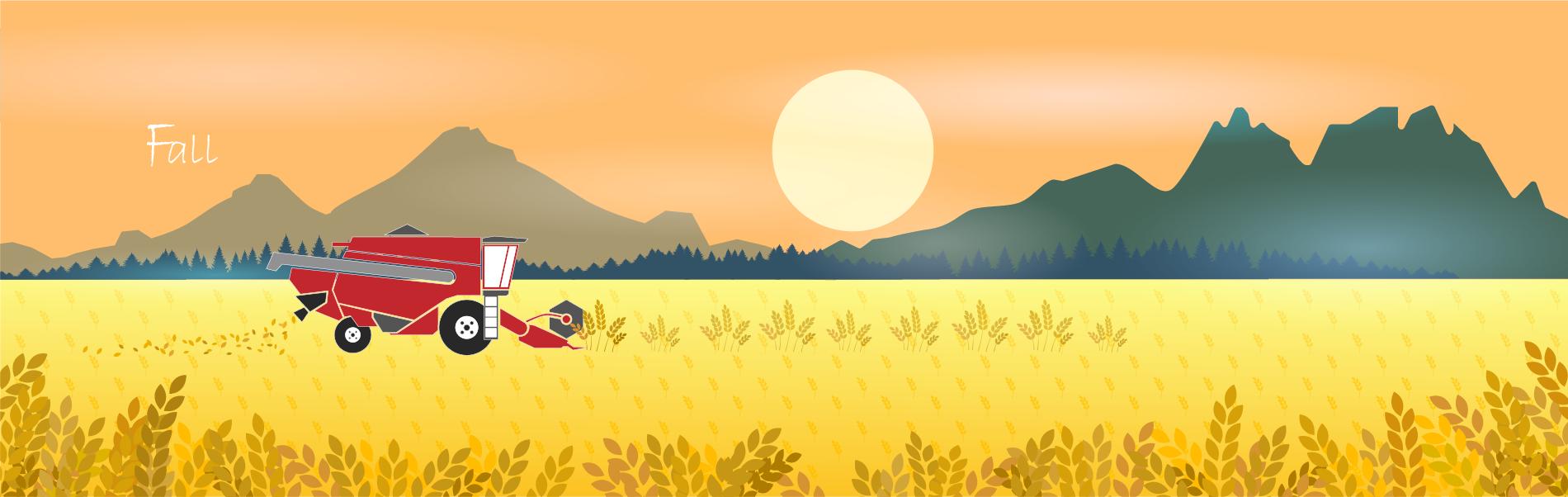 秋季背景圖