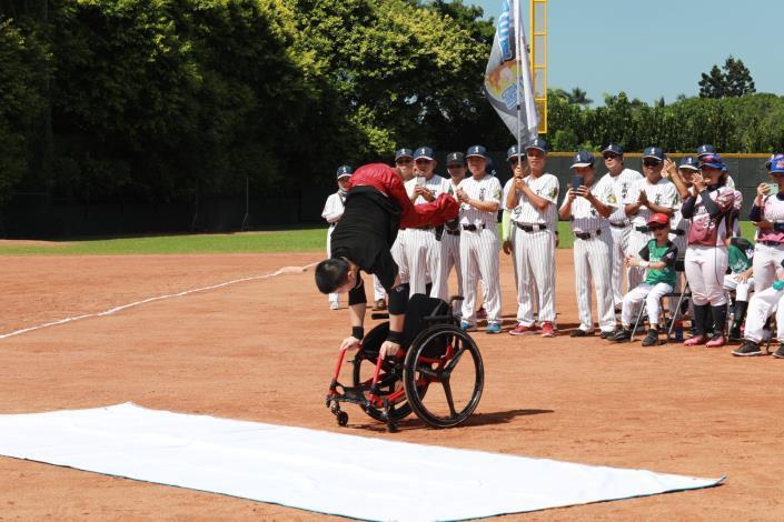 輪椅街舞表演