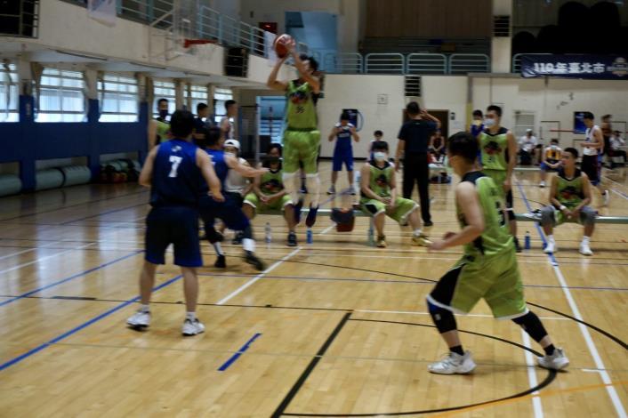 110年臺北市籃球社區聯誼賽4