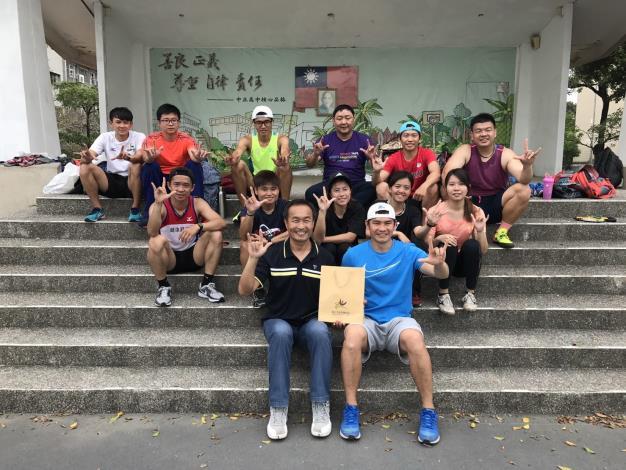 107年身障運臺北市代表隊集訓訪視-田徑