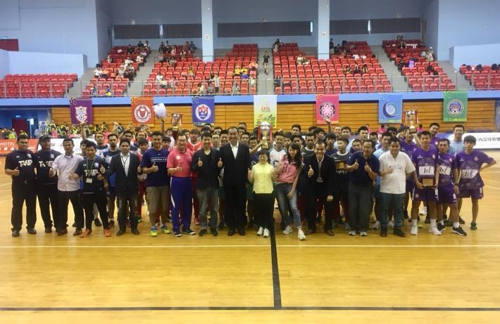 中華五人制足球聯賽閉幕典禮