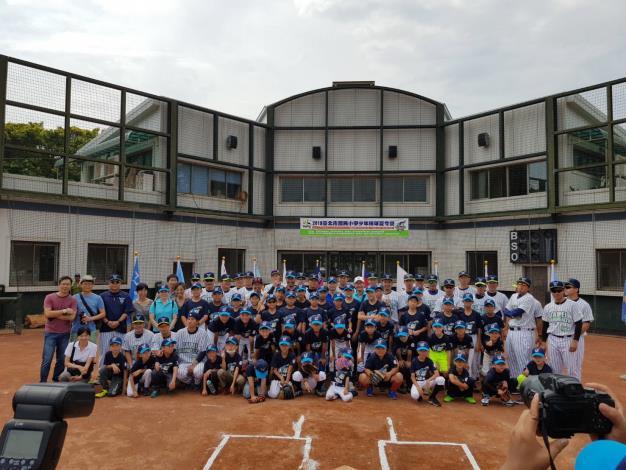 2018臺北市少年棒球夏令營開訓