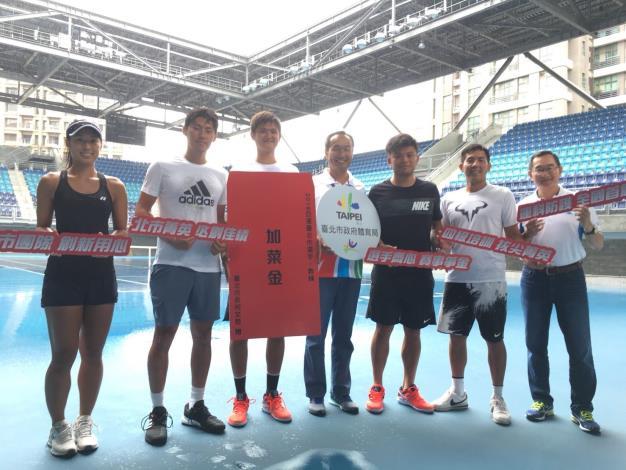 2018雅加達亞運為臺北市選手加油打氣