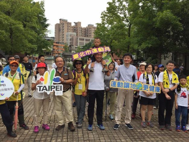台北市運動月登山健行活動-1070901飛龍及劍潭山步道