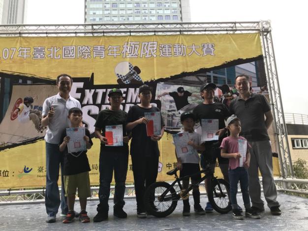 107臺北國際青年極限運動大賽