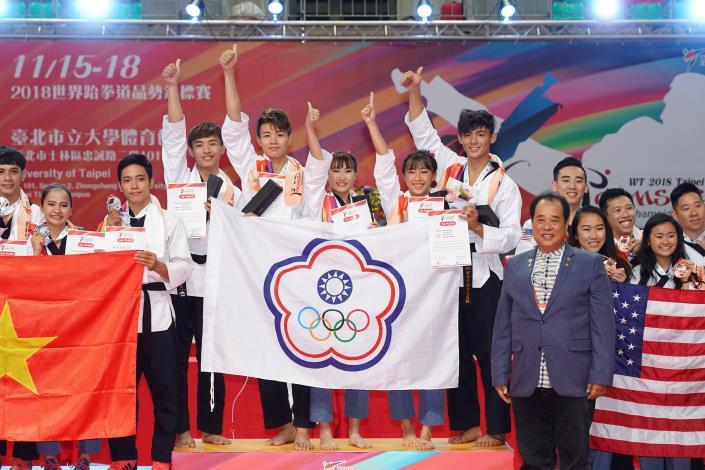 2018年第十一屆世界跆拳道品勢錦標賽