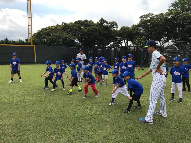 2019年臺北市國民小學少年棒球夏令營
