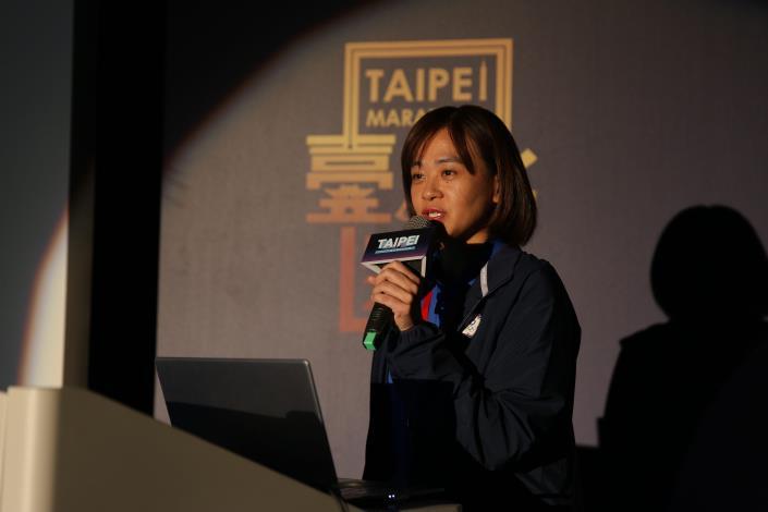 國際馬拉松標籤認證講者-中華民國田徑協會競賽組王麗芳組長