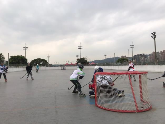 滑輪溜冰-曲棍球