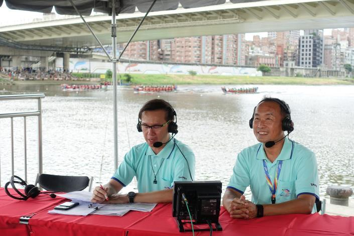 決賽電視實況轉播-背景賽視為男子組第五、六名決賽實況