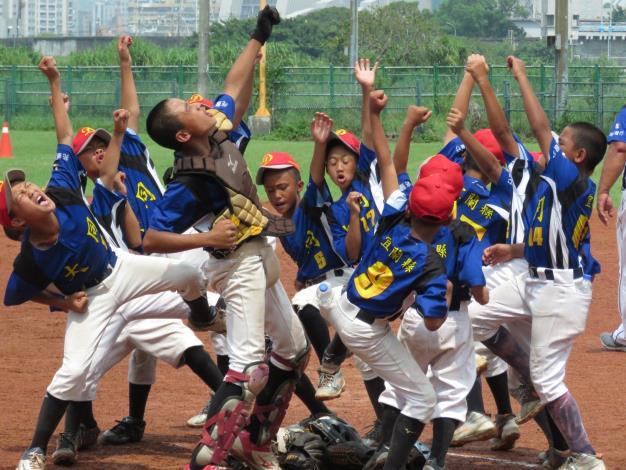 2020年第12屆陽明山盃全國三級棒球錦標賽-球員集合加油