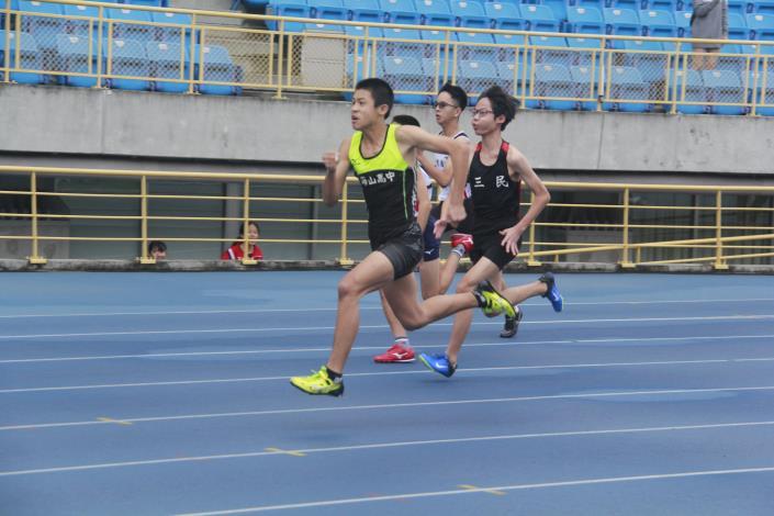 徑賽-高中男子100公尺.JPG