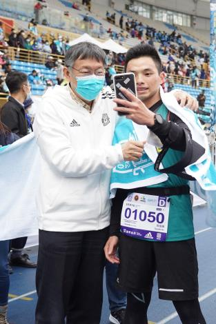 和市長自拍是參加這場賽事最值得回憶的一部分