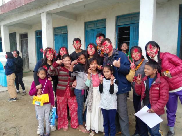 尼泊爾的祝福[開啟新連結]