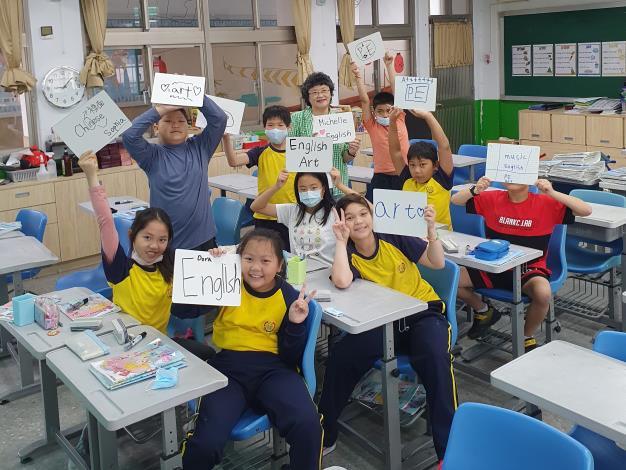 立農國小阮玲老師深具英語教學專業且熱心參與