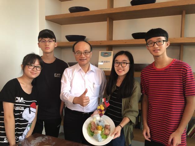 臺北市學生用行動力與國際接軌-全球網路學習計畫「躍動城市的味蕾─秀廚藝·品臺北」成果發表
