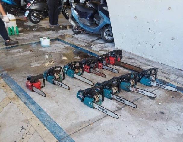 防汛整備-鍊鋸整備