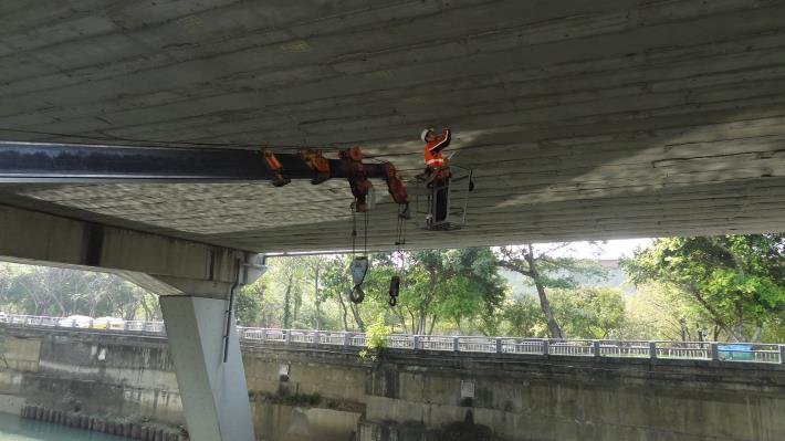 橋梁安全檢測工作1