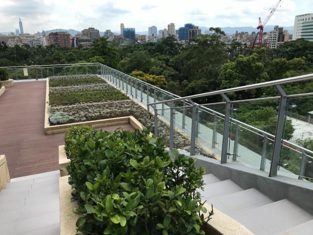 屋頂綠化與植物園相融合