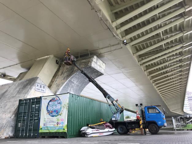 橋梁安全檢測工作