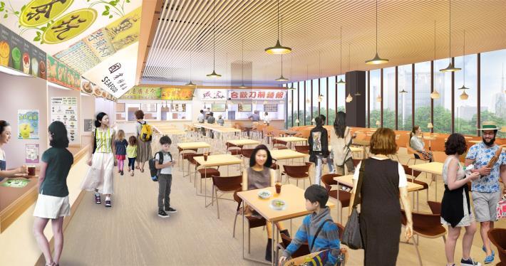 04 2F餐廳飲食區 模擬圖