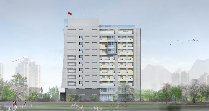 04建築東向外觀模擬