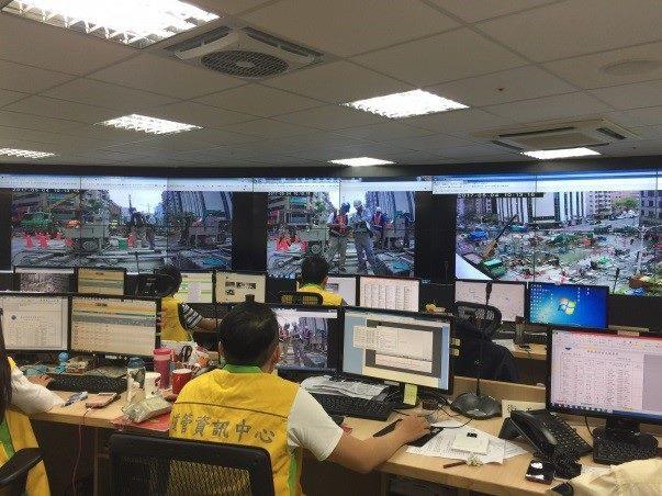 圖4 臺北市道路施工即時遠端監控